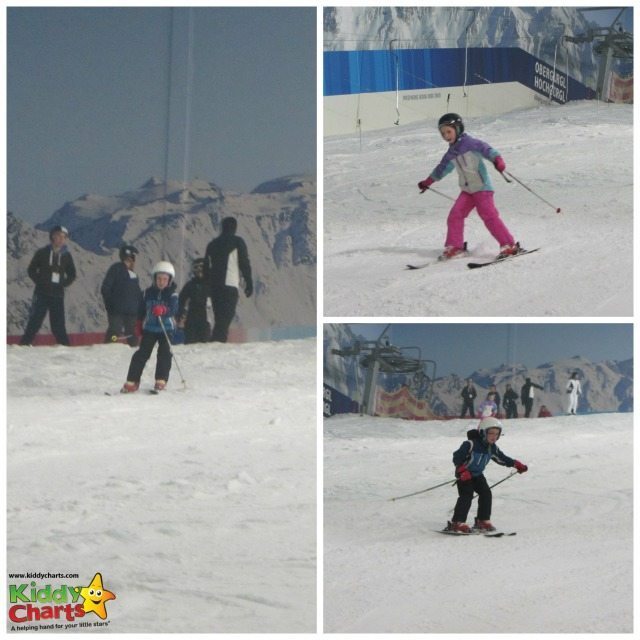 Ski-ing at Hemel Snow Centre - it works and its fun!