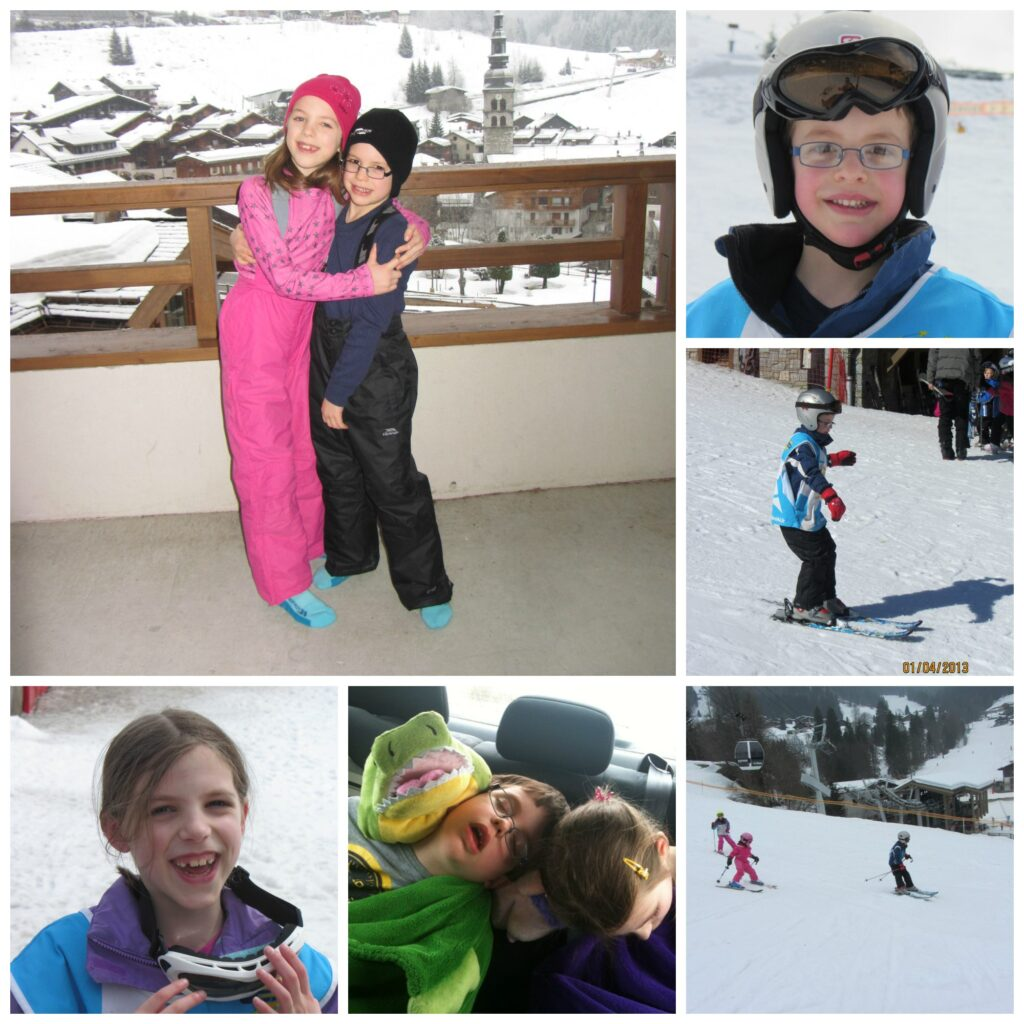 Skiing with kids: We had a great time!