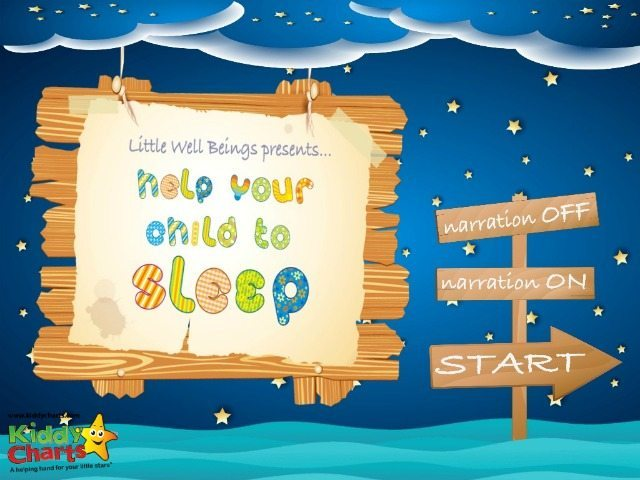 Do you have a sleep routine for your kids? Well this app is designed to help calm them before they go to bed. Why not check it out?