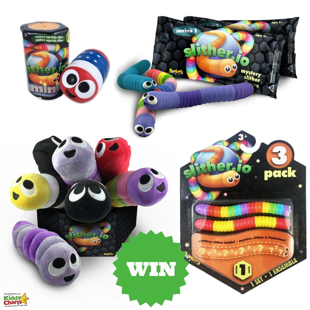 We are giving away some amazing Slither.io toys on the site - pop over and take a look, but hurry. Closes 30th Nov. #giveaways # ukgiveaways # competitions