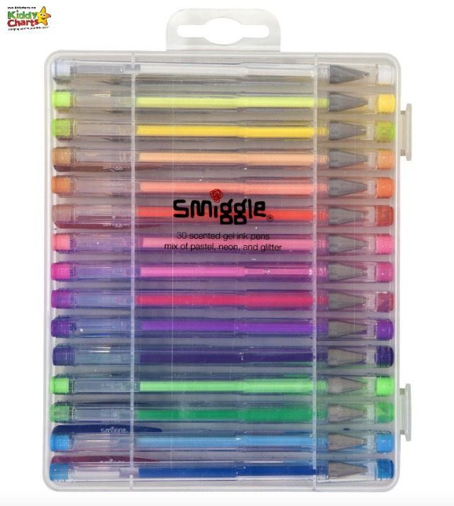 The Smiggle Gel Pens were a big hit with the kids, so much so that they even shared them!