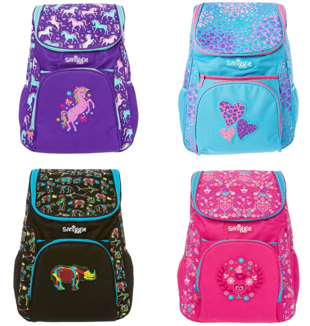 Win these fantastic Smiggle backpack - closes 2nd Nov.