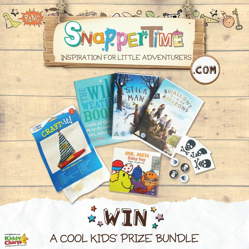 You've got a chance to win an excellent busy bundle for the kids with Snappertime on KiddyCharts. Closes on 22nd June