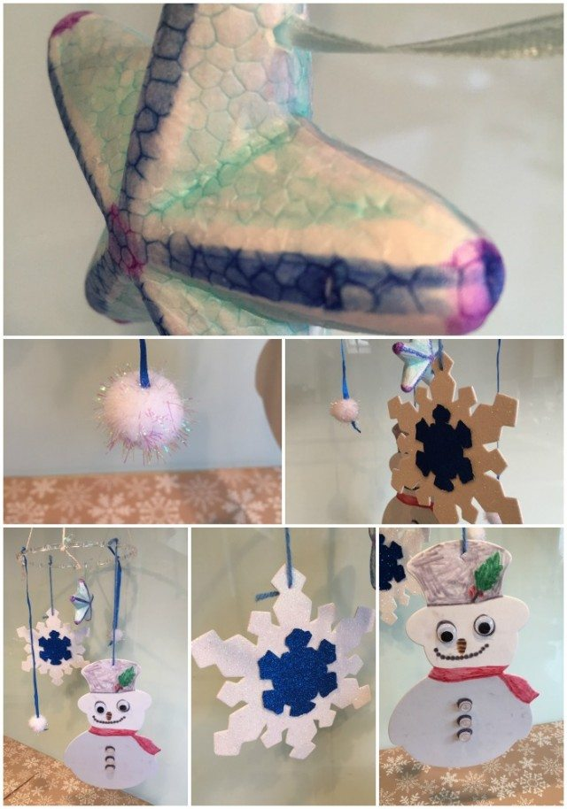 This snow mobile craft is really easy and simple for little hands; all you need are a few snowflakes, a snowman and some imagination