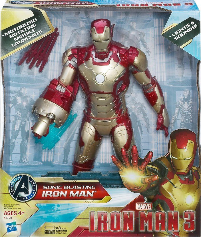 Sonic Blasting Iron Man Review: The Box