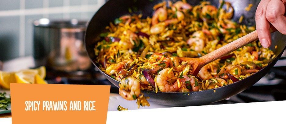 We loved the Spicy prawns with rice; great to have with kids or the other half!