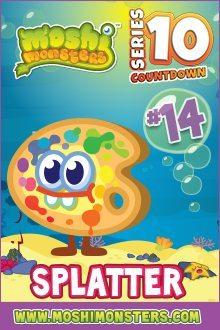 Splatter Series 10 Moshi Monsters