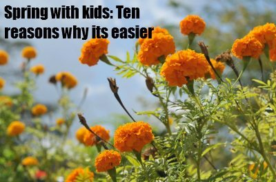 Spring for kids: Ten reasons why its easier...
