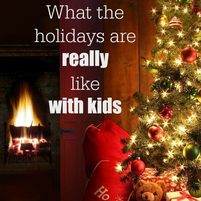 Christmas is a wonderful time, but it sure have changed since being a parent. How do the holidays change since you had those wee kiddies?