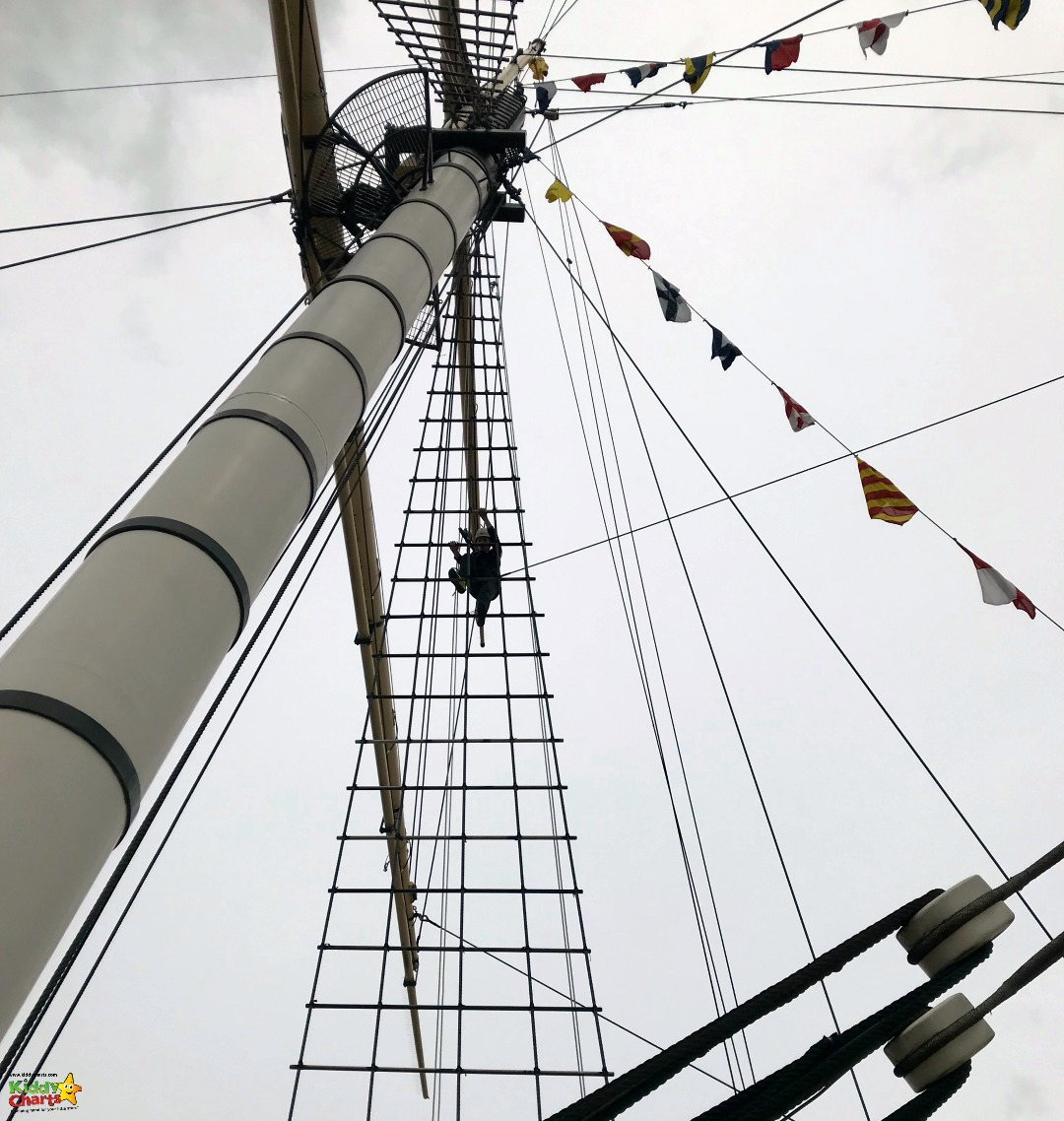 SS Great Britain - coming down the rigging #travel #uk #bristol #daysout