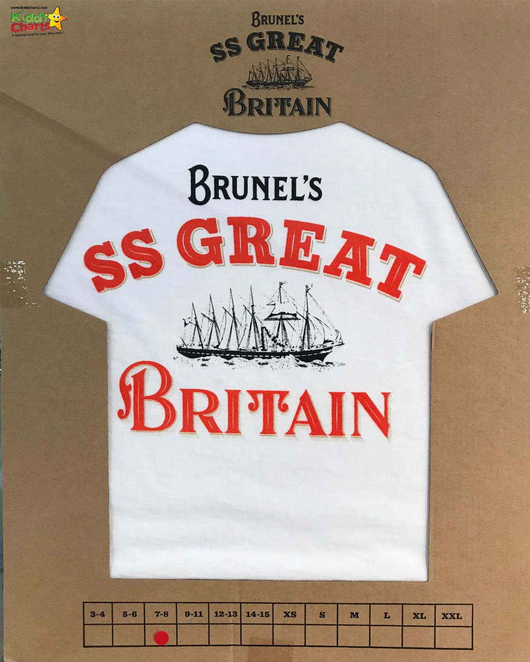 SS Great Britain T-Shirt from THE best souvenir shop - ever!