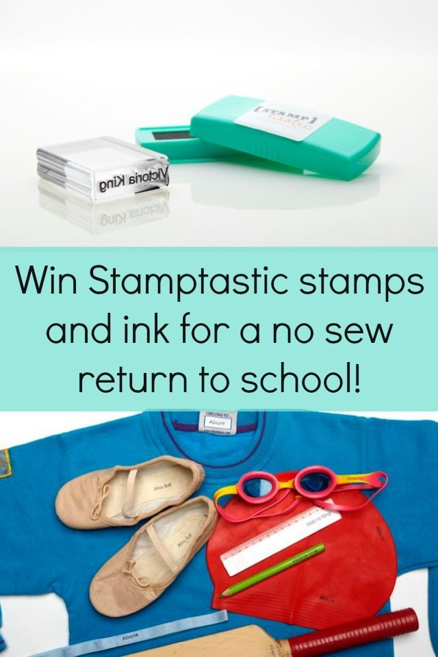 Do you hate labelling things - yep - me too! We have a giveaway where you can win some stamps so you don't need to label by sewing again...and your kids will even find it fun with Stamptastic. Closes 12th August.