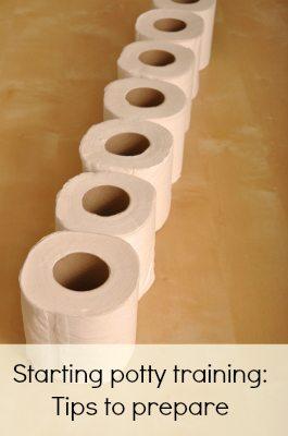 Starting potty training: Pinterest
