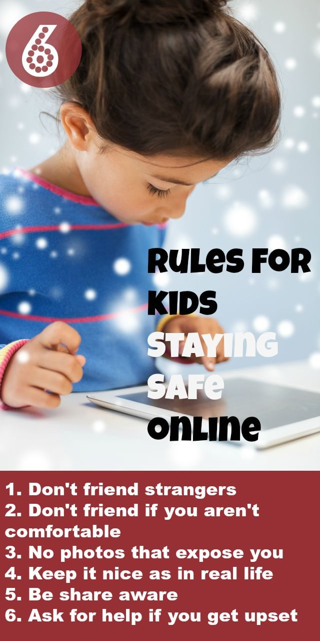 How do we keep our kids safe online - it is a nightmare we know! But these Triple Ss for Safety should help to  keep you on top of it, with the six rules for safety online!