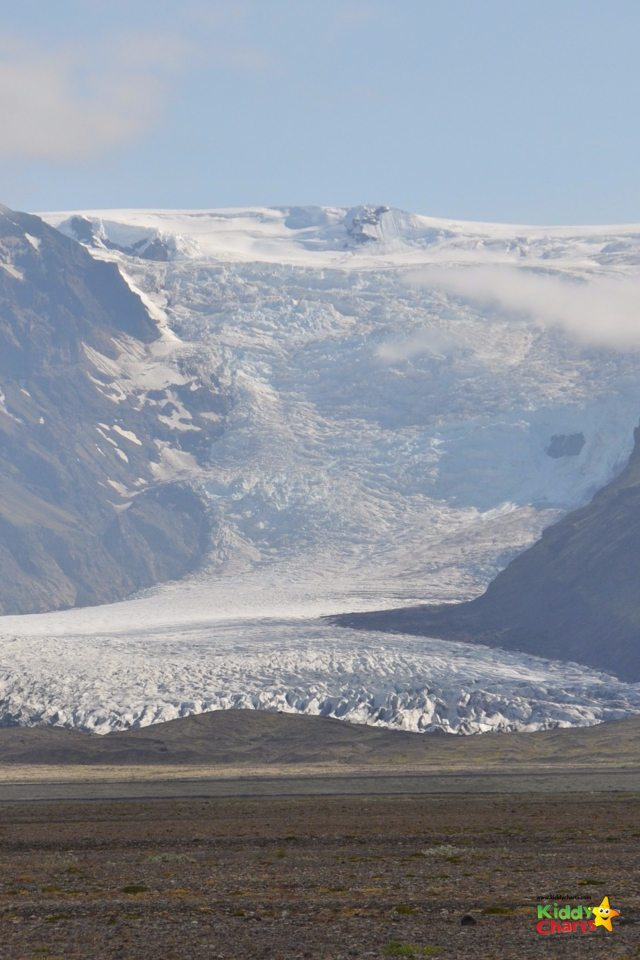 Glacial walks in Iceland