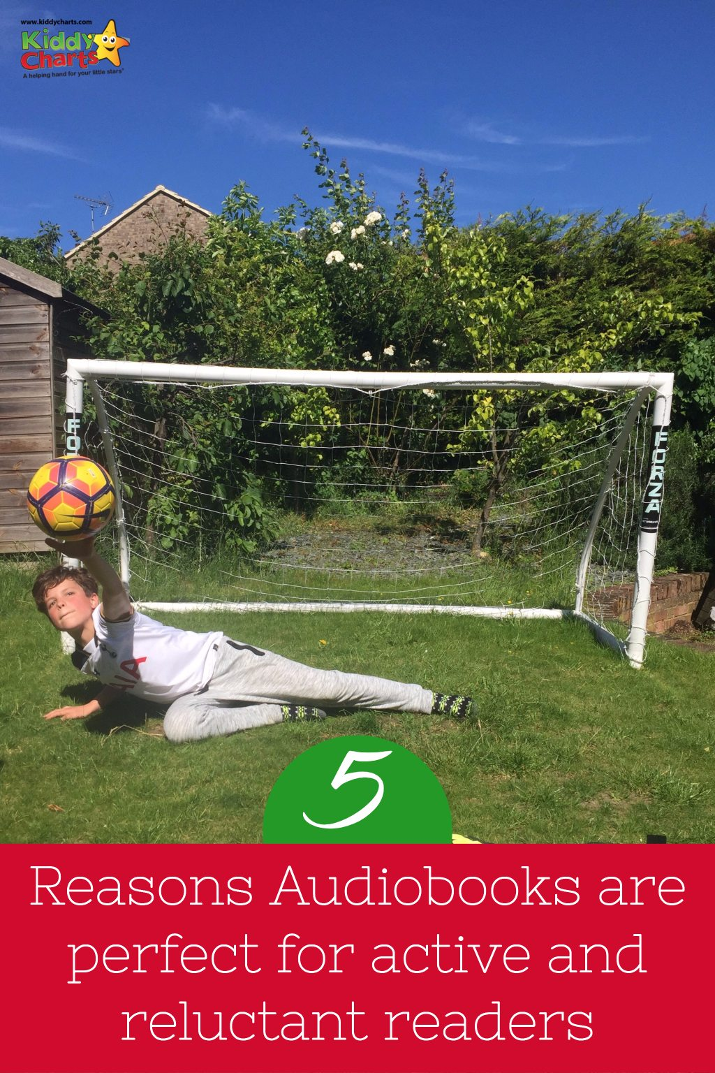 Audiobooks are a great choice for reluctant and active readers - we've got five great reasons for why they are worth investing in. We look at the BookBeat app as well - a great choice for the kids and you.