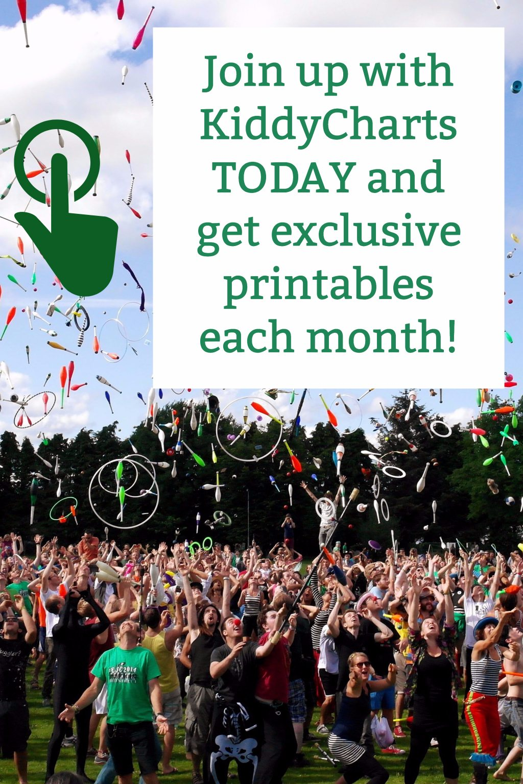 Do YOU want to be a member of an exclusive club and get gree printables each month for the kids, to keep them busy so you can finally have THAT sit down for a bit? Then join us here at KiddyCharts for our exclusive printables in our KiddyCharts KiddyClus Crew! We want YOU!