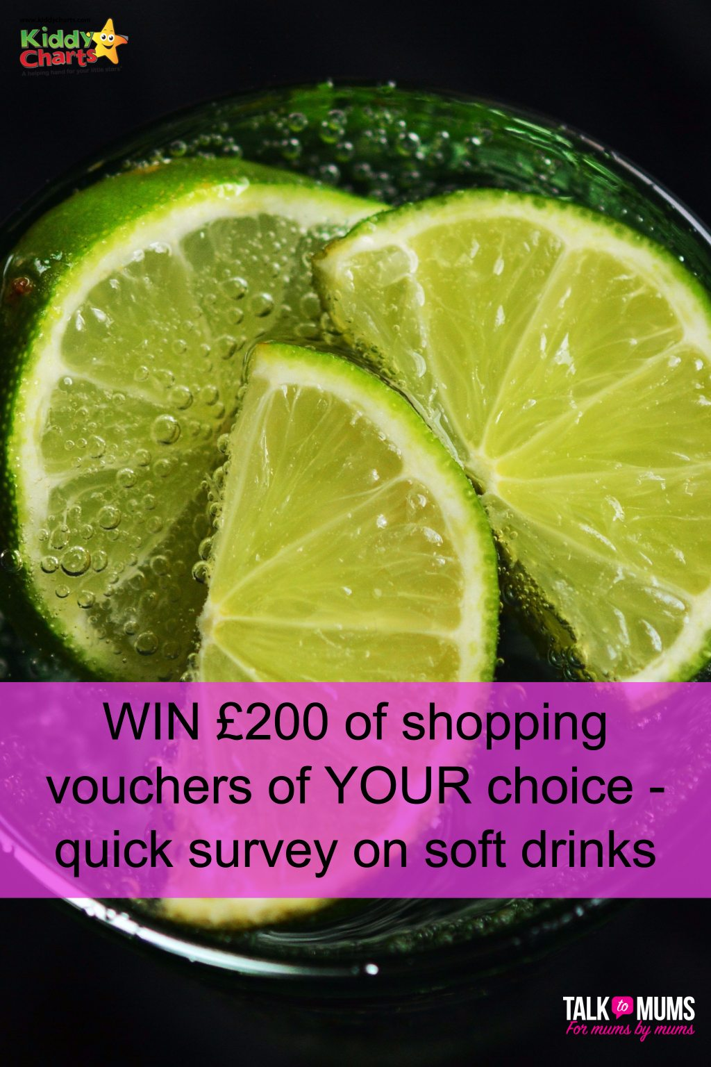 Talk to Mums Survey on Soft Drinks - £200 shopping vouchers up for grabs!