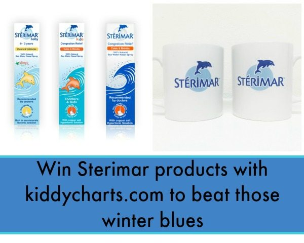 We have another wonderful giveaway - this time from Sterimar who want to keep your Xmas colds at bay. Closes 10th Dec.