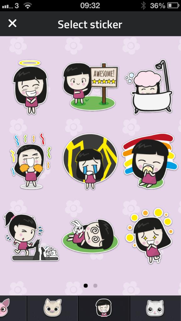 Dayre-stickers