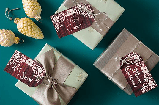 How to create great sticky labels for your Christmas presents with Avery