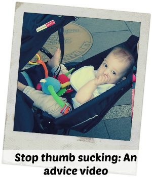 Stop Thumb Sucking: It isn't going to be easy....