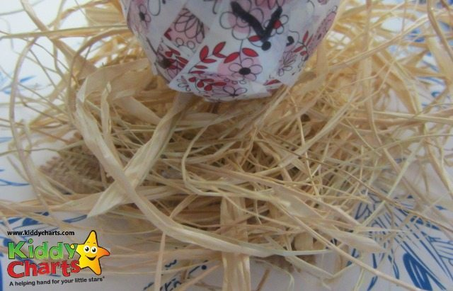 Straw effect string - perfect for nests at easter!