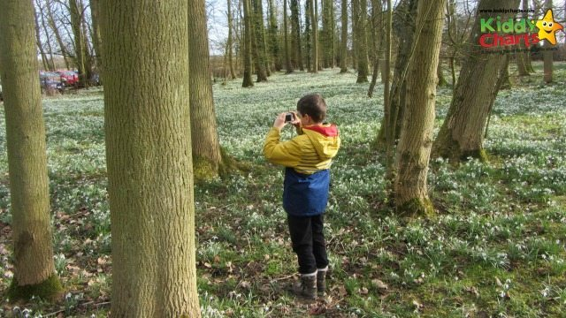 Some wonderful times with even Stuntboy wanting to take pictures of the Snowdrop