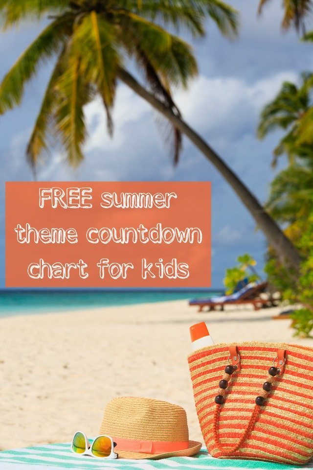 Got something to look forward to this summer, but not sure how to help the kids understand when it is? Try our countdown chart, with a gorgeous summer theme - this way they'll know whehn it is and won't keep asking!