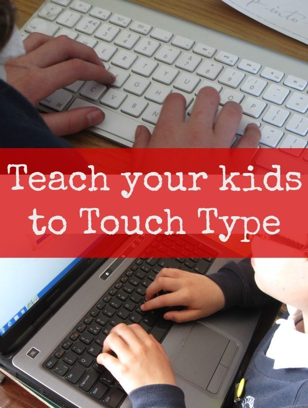 Teach your kids to touch type with this great site - typekids.com. My son and daughter are giving it a go at the moment . Touch typing is a great skill to have, and the earlier you learn it, the better. Kids like to have fun, so touch typing with a bit of game play thrown in is definitely worth a try.