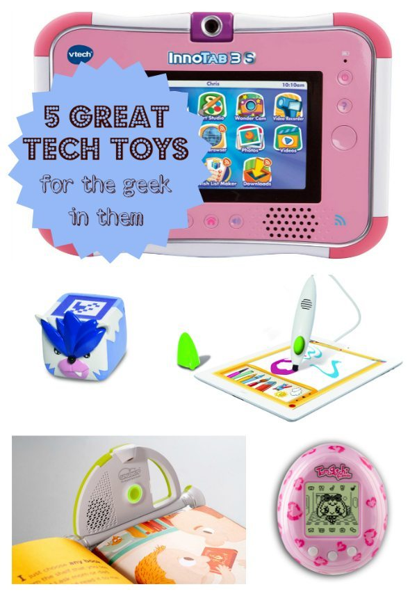 Tech Toys: For the geek in them
