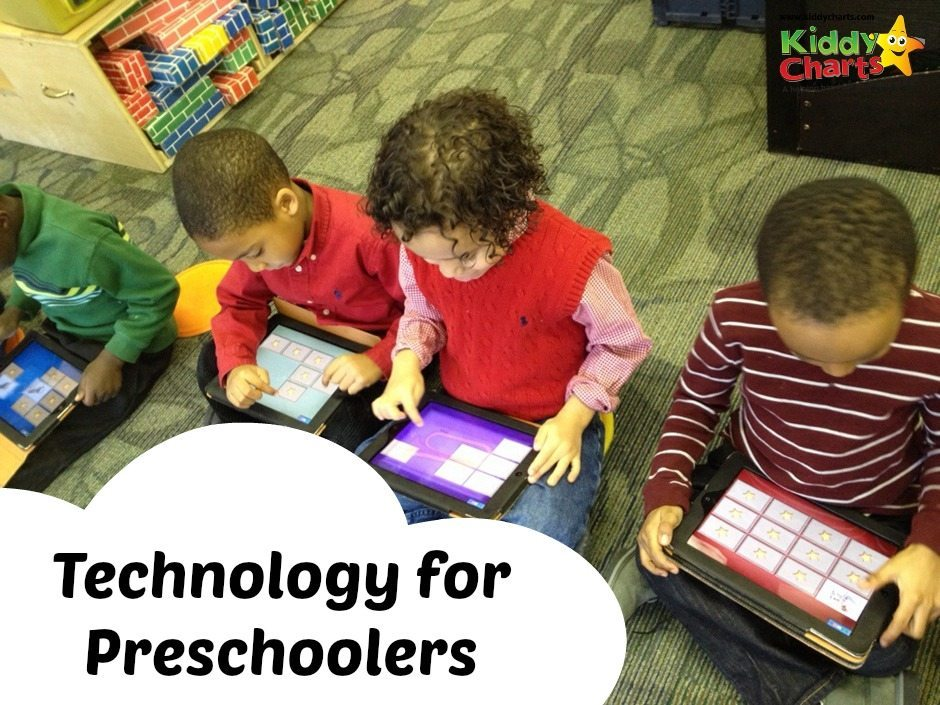 technology for preschoolers