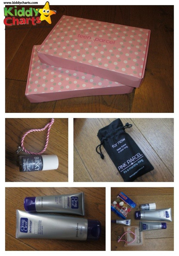 What did our Teen Parcel from Pink Parcel contain?