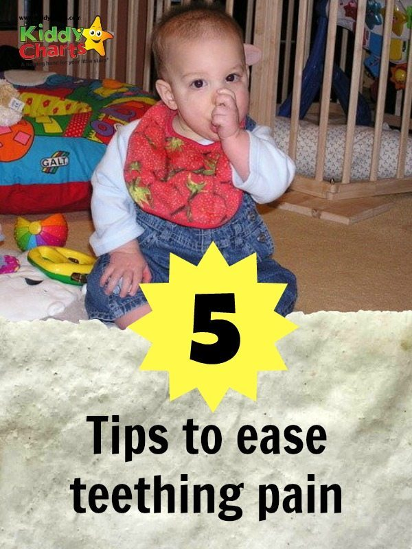 5 Tips to Ease Teething Pain