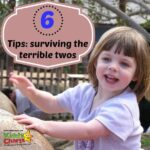 Six tips for surviving the terrible twos