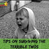 Parenting Tips Linky: Surviving the terrible twos and tantrums
