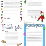 Free thank you letters