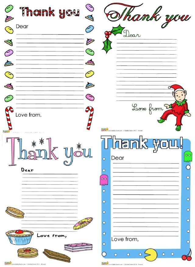 Writing thank you letters are somewhat of a Christmas Tradition in our house. After the festivities, there is nothing quite like sitting down to write those thank you letters at the table with the kids. It is really important to teach our children, after receiving any gifts, that say thank you is still really really important. These thank you letter templates are great for Christmas and birthdays too.