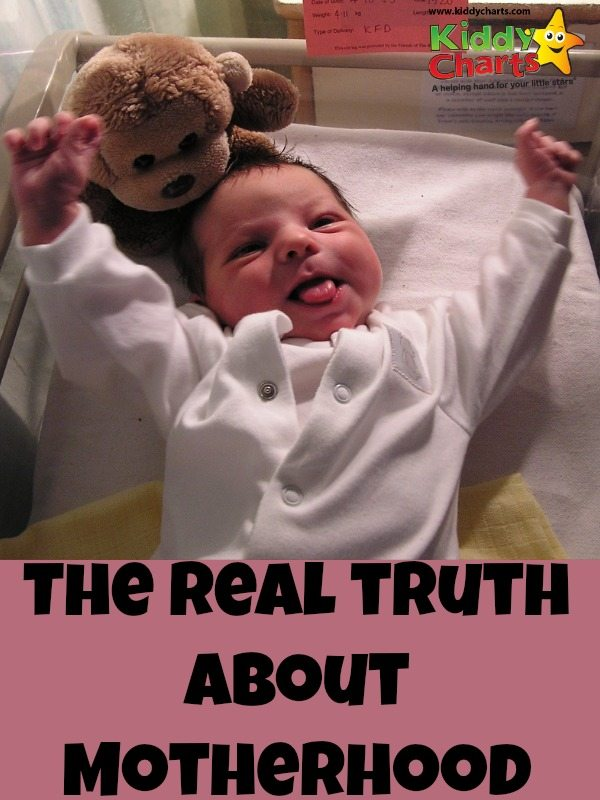 What is the real truth about motherhood - not sure nine years later I even know, but here are some thoughts!