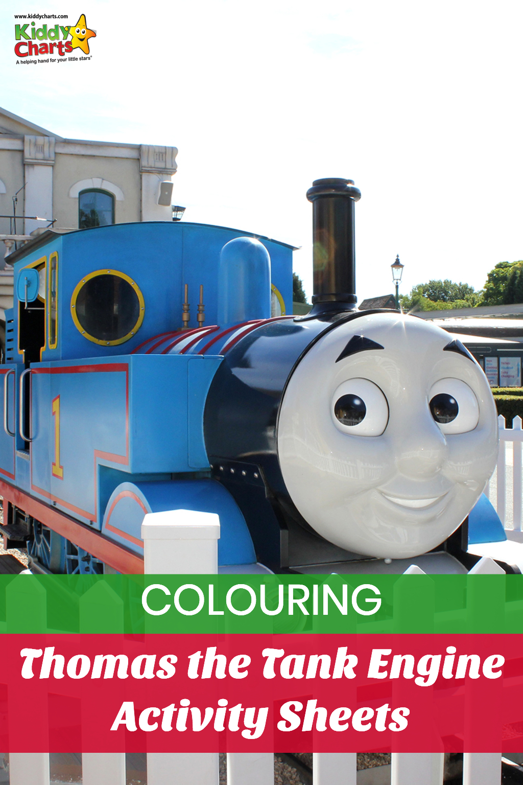Thomas the Tank Engine activity sheets for all those little train spotters out there!