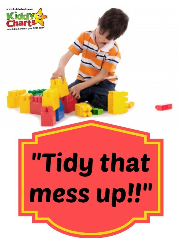 We have all been there but how exactly do we encourage our children to put stuff away?