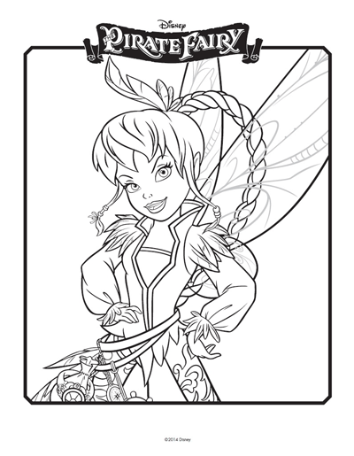 Tinkerbell Coloring Pages: Tinkerbell