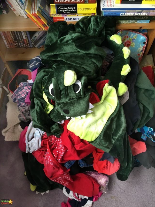 We have a pile of clothes for TK Maxx give up clothes for good - I bet you can find one too, right?