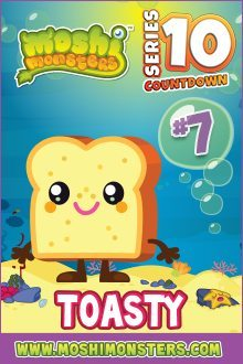 Moshi Monsters Series 10: Toasty