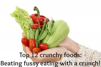 Top 12 crunchy food: Beating fussy eating with a crunch