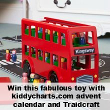 Traidcraft: bus toy