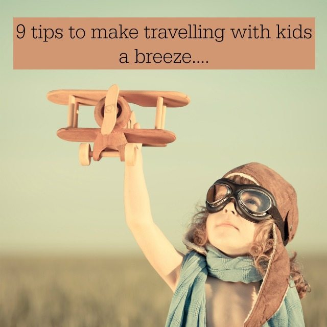 Do you love travelling with our family? We have a few tips to make it easier to travel with the kids...nine of them in fact!