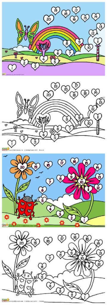 Download these two valentine reward chart designs, you can get the kids to colour them if you want as well - more buy in better results!