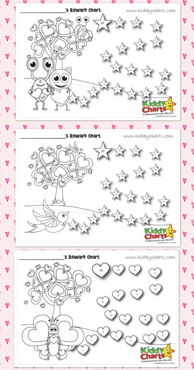 Is there love in the air? We have some valentines reward charts and behavior charts for you to help with the kids. Sometimes all it takes is a little incentive and these rewards charts are perfect!