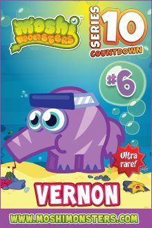 Moshi monsters series 10: Vernon